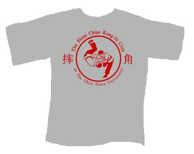 Club T-shirt throw logo